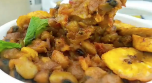 Tigernut Beans Porridge